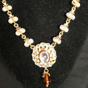 Kundan style necklace from India
